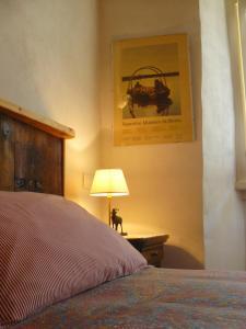 Letto o letti in una camera di B&B Ploncher