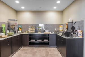 A kitchen or kitchenette at Quality Inn & Suites Kingston