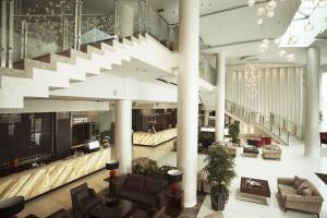 The lobby or reception area at Victoria & SPA Minsk