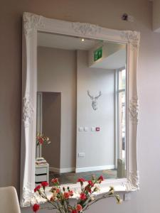 A bathroom at The Marine