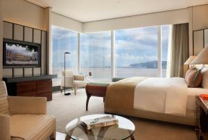 A seating area at MGM Macau