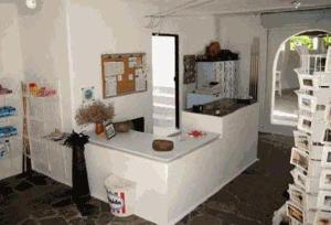 Η κουζίνα ή μικρή κουζίνα στο Agistri Club Hotel