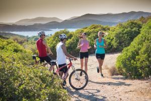 Biking at or in the surroundings of Chia Laguna - Hotel Village
