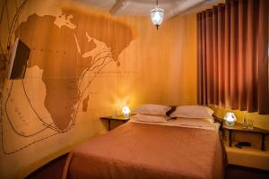 Кровать или кровати в номере Luxury House ECO-hotel & Spa