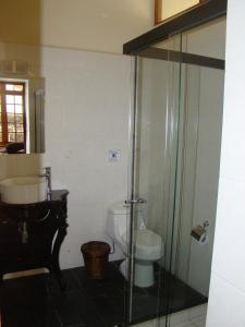 A bathroom at Hotel Boutique El Consulado