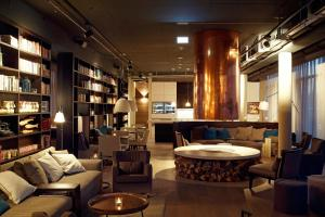 The lounge or bar area at Soulmade