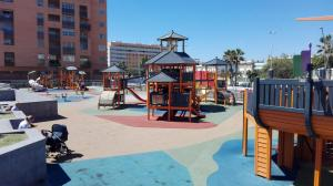 Children's play area at Hotel Solymar