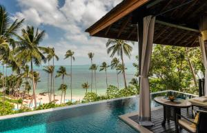 The swimming pool at or near Four Seasons Resort Koh Samui