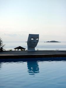 Basen w obiekcie Aquagrand Exclusive Deluxe Resort Lindos - Adults only lub w pobliżu