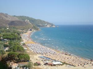 A bird's-eye view of Hotel Corallo