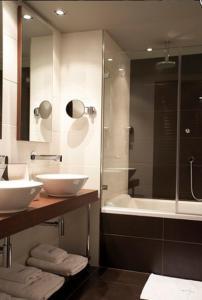 A bathroom at Hotel La Trufa Negra