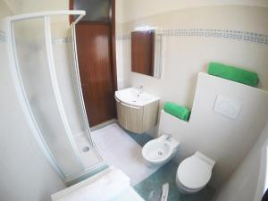 Koupelna v ubytování Appartamento Tintoretto
