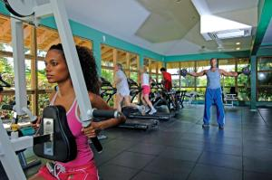 The fitness centre and/or fitness facilities at Coconut Bay Beach Resort & Spa All Inclusive