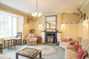 A seating area at Ord House Hotel
