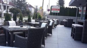 Reštaurácia alebo iné gastronomické zariadenie v ubytovaní Guest House Frizzante