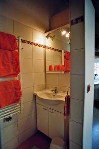 A bathroom at Inn Pension