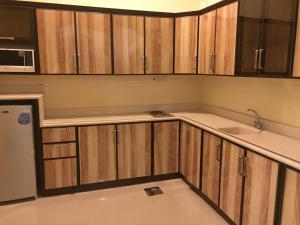 A cozinha ou cozinha compacta de Terhal Hotel Suites