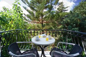 Μπαλκόνι ή βεράντα στο Hotel Athina