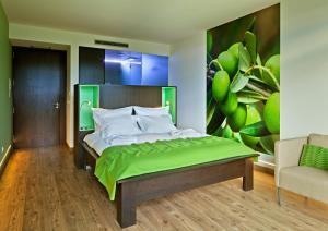 Uma cama ou camas num quarto em 12 Meses Naturalmente