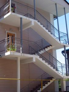 Балкон или терраса в Гостевой Дом «Свирский Пляж»
