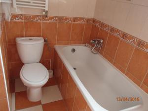 Kúpeľňa v ubytovaní Pension Magnolia