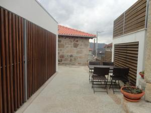 Uma varanda ou terraço em Cantinho do Cantador