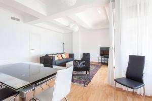 Zona de estar de Apartamentos Bahía Alicante