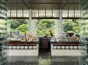 مطعم أو مكان آخر لتناول الطعام في فندق بادما باندونغ