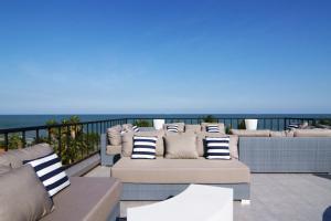 A balcony or terrace at Dune Hua Hin Hotel