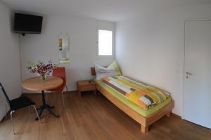 Ein Bett oder Betten in einem Zimmer der Unterkunft Bed and Breakfast Wegmann