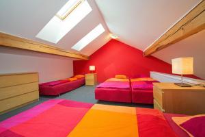 Postel nebo postele na pokoji v ubytování Apartma Panorama Jeseník
