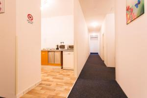 Küche/Küchenzeile in der Unterkunft Zimmervermietung Dietrich Trofaiach