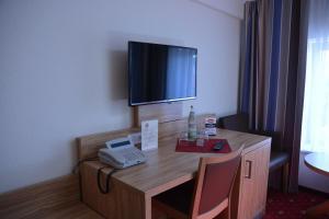 TV/Unterhaltungsangebot in der Unterkunft Altstadthotel Harburg