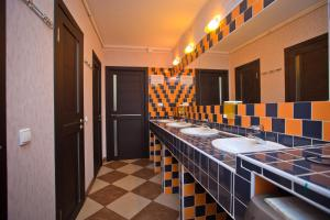 A bathroom at Hostel na Nevskom Mishanya
