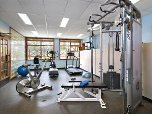 The fitness center and/or fitness facilities at Pyramid Lake Resort