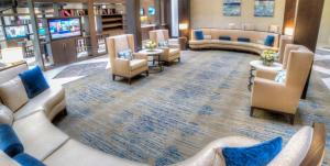 The lobby or reception area at DoubleTree Suites by Hilton Atlanta-Galleria