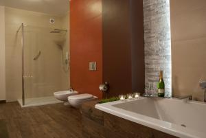 Łazienka w obiekcie Hotel Dwór Galicja