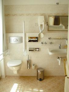 Ванная комната в Hotel Certovka