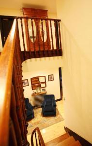 A seating area at Hotel Casa de Indianos Don Tomás