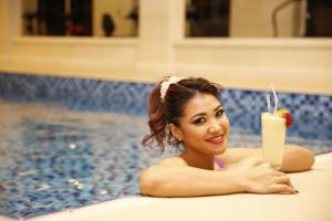 المسبح في فندق آدامز أو بالجوار