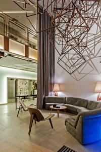 A seating area at Hotel Atlantico Prime