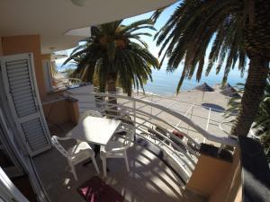 A balcony or terrace at Villa Jerkan