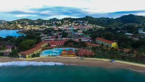 A bird's-eye view of Starfish St Lucia - All Inclusive