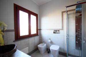 A bathroom at Agriturismo Pialza