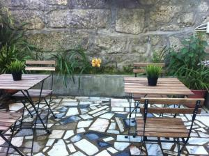 A porch or other outdoor area at Hotel Mira D'Aire