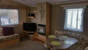 A television and/or entertainment center at Rockley Park