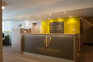 The lobby or reception area at Hotel Princess