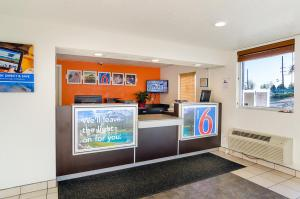 The lobby or reception area at Motel 6-Denver, CO - Federal Boulevard