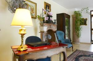 Hall o reception di Hotel Ristorante Italia