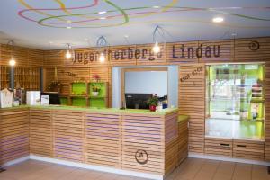 The lobby or reception area at HI Youth Hostel Lindau